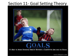 Goal Setting Theory - Lead More