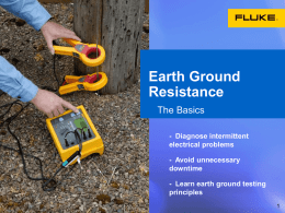Earth Ground Resistance