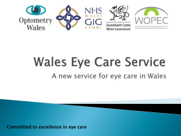 Wales Eye Care Service