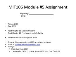Module #5 Assignment - technology