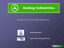 Aisling Industries