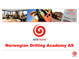 Norwegian Drilling Academy
