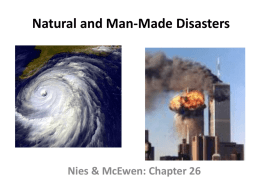 Nies & McEwen: Chapter 26: Natural and Man
