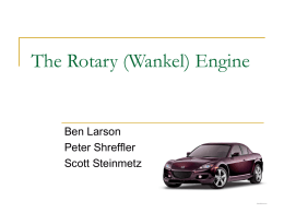 PPT 4 Rotary Engines