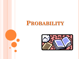 Probability PowerPoint notes