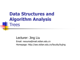 Data Structure and Algorithm Analysis part 2