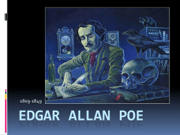 Poe power point - Madeira City Schools