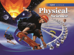 Section 15.1 - CPO Science