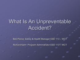 What is an Unpreventable Accident?