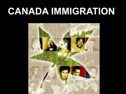 Immigration - Harry Collinge High School