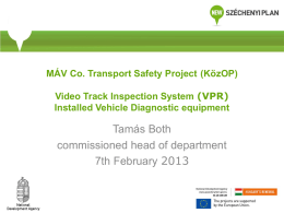Video Track Inspection System