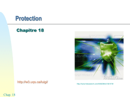 Chap18 - Protection