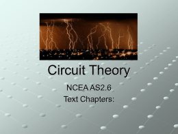 Y12 Circuit Theory-onscreenpresentation