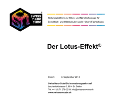 Lotus-Modul PowerPoint-Präsentation