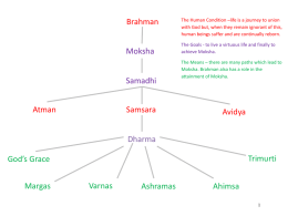 Who or What is Brahman ? Brahman is the ultimate reality behind