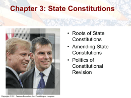 Roots of State Constitutions