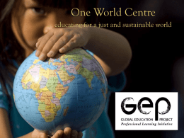 Geography - One World Centre
