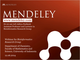 Mendeley-Teaching-Presentation