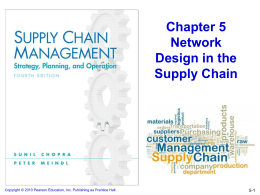 Supply Chain Management - 4th edition