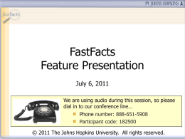 Powerpoint - Fast Fact