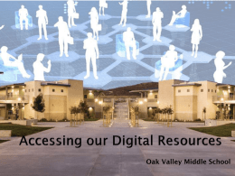 Bridging the Digital Divide - Poway Unified School District