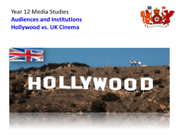 to the `Hollywood vs. UK Cinema` notes