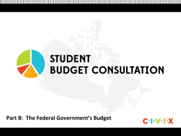 PowerPoint-B-The-Federal-Governments-Budget