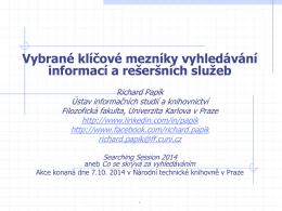 Searching Session 2014