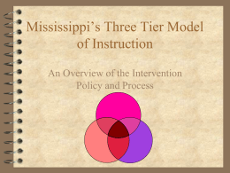 TST PowerPoint - Lowndes County School District
