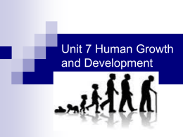 Human Growth & Development ppt
