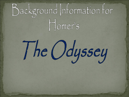 Odyssey Powerpoint - Madison County Schools