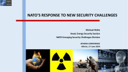 NATO`s Response to New Security Challenges