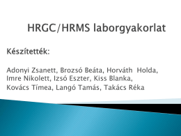 HRMS1-vegso
