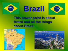 Brazil finished NO.3 - St Luke`s Primary Blog