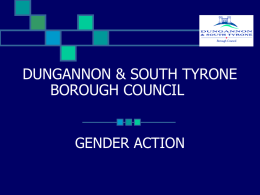 Dungannon & South Tyrone Borough Council Case Study