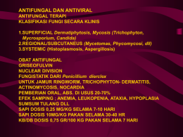 POT-7 Antifungal dan Antiviral