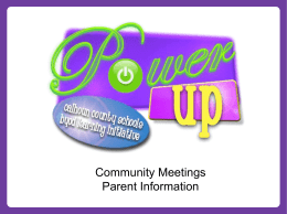 BYOD Parent Information - Calhoun County Schools
