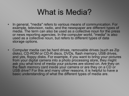What is Media(수정본)