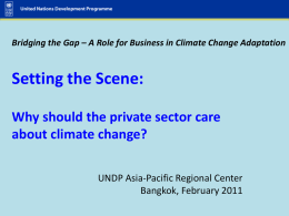 Current Climate Change Trends and Issues for East Asia
