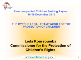 chldren protection under cypriot law