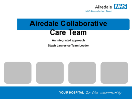 Airdale Collaborative Care Team