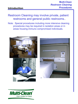 Healthcare Restrooms - Multi