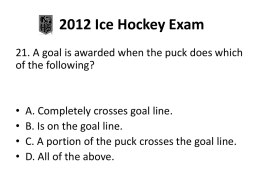 Q21-40 - Central Ohio Youth Ice Hockey Officials` Association