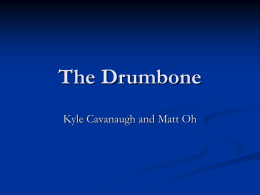 Playing the Drumbone