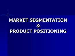 11. consumer behavior & product strategy