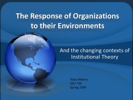 PowerPoint 730 - Tracy`s Thesis