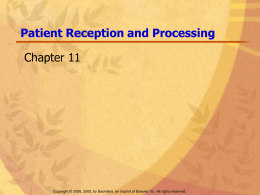 pt reception ppt - the Health Science Program