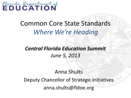 The Common Core State Standards require teachers to… increase
