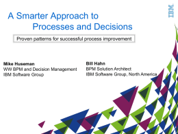 IBM-BPM-Pres-PatternsForSuccess-Brainstorm