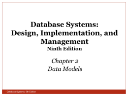 Database Systems: Design, Implementation, and Management Ninth